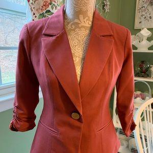 Xoxo burnt orange jacket size S